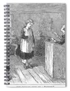 Schoolhouse, 1877 Spiral Notebook