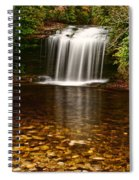 Schoolhouse Falls - Nc Spiral Notebook