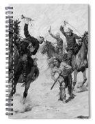 Schreyvogel: Attack, 1905 Spiral Notebook
