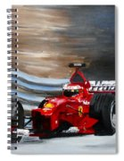 Schumacher Monaco Spiral Notebook
