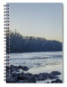 Schuylkill River Sunrise Linfield Pa Spiral Notebook