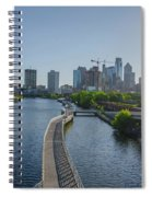 schuylkill River Walk from South Street Bridge Spiral Notebook
