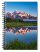 Schwabacher Alpenglow Spiral Notebook