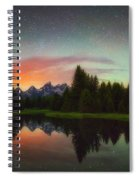 Schwabacher Heavens Spiral Notebook