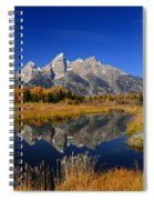 Schwabacher Landing Panorama Spiral Notebook
