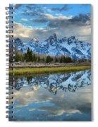 Schwabacher Spring Clouds Spiral Notebook