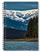 Schweitzer Mountain Resort Spiral Notebook
