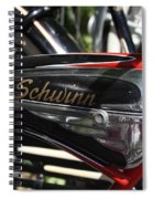 Schwinn Black Phantom Spiral Notebook
