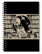 Science Books Spiral Notebook