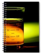 Scientific Beaker In Science Research Lab Spiral Notebook