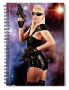 Scifi Heroine Spiral Notebook