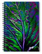 Scintillating Leaf Spiral Notebook