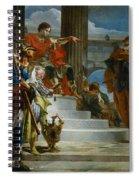 Scipio Africanus Freeing Massiva Spiral Notebook