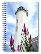 Scituate Light Spiral Notebook