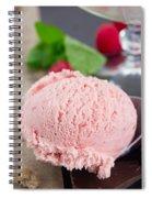 Scoop Of Icecream Spiral Notebook