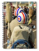 Scooter Mods And Helmets Spiral Notebook