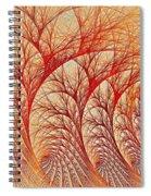 Scorched Spiral Notebook