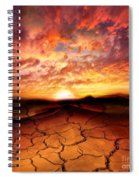 Scorched Earth Spiral Notebook