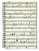Score For The Opening Of Swan Lake By Tchaikovsky Spiral Notebook