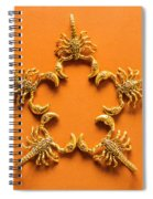 Scorpio Star Sign Spiral Notebook
