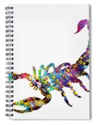 Scorpion-colorful Spiral Notebook