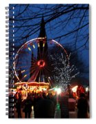 Scot Monument Christmas And Hogmanay Fair Scotland Spiral Notebook