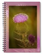 Scotch Thistle Spiral Notebook