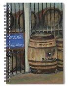 Scotch Whiskey - Barrels - Macallan Spiral Notebook