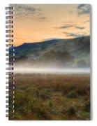 Scotland Mist In Widescape Spiral Notebook
