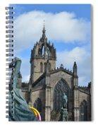 Scotland Skies Spiral Notebook