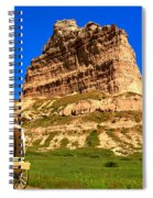 Scots Bluff National Monument Spiral Notebook