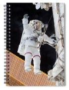 Scott Kelly, Expedition 46 Spacewalk Spiral Notebook