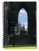 Scott Monument Spiral Notebook