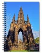 Scott Monument, Edinburgh, Scotland Spiral Notebook