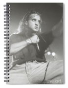 Scott Stapp Of Creed Spiral Notebook