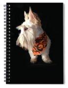 Scottie Pose Spiral Notebook
