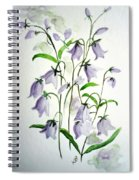 Scottish Blue Bells Spiral Notebook