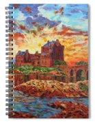 Scottish Castle - Eilean Donan Spiral Notebook