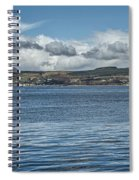 Scottish Panorama Over The River Clyde Spiral Notebook