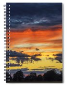 Scottish Sunset Spiral Notebook