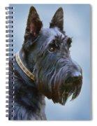 Scottish Terrier Dog Spiral Notebook