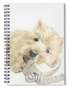 Scottish Terrier Puppies Spiral Notebook