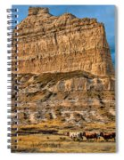 Scotts Bluff National Monument Spiral Notebook