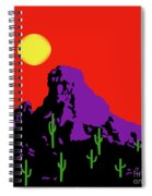 Scottsdale Mountain Spiral Notebook