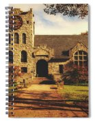 Scoville Memorial Library - Salisbury, Connecticut Spiral Notebook