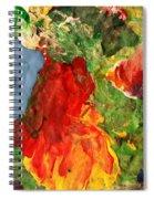 Scramble  Spiral Notebook