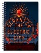 Scranton - The Electric City Spiral Notebook