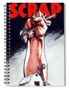 Scrap - Ww2 Propaganda Spiral Notebook
