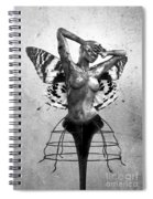 Scream Of A Butterfly II Spiral Notebook