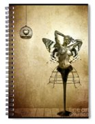 Scream Of A Butterfly Spiral Notebook